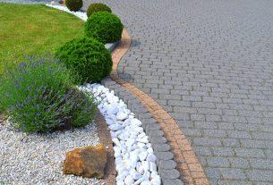 Efektowne chodniki z kamienia naturalnego w ogrodzie - krok po kroku