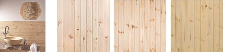 Boazeria drewniana, sosna, jesion. Cena od 26 zł/m2