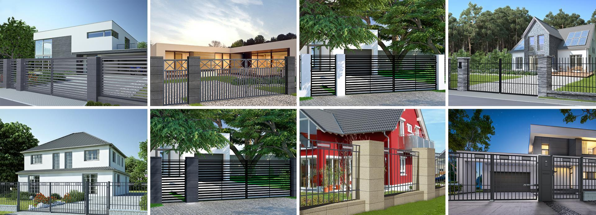 Nowoczesne systemy ogrodzeń i bram wjazdowych. Funkcjonalne, trwałe i estetyczne.