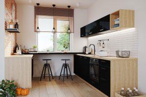 5 zasad urządzania małej kuchni
