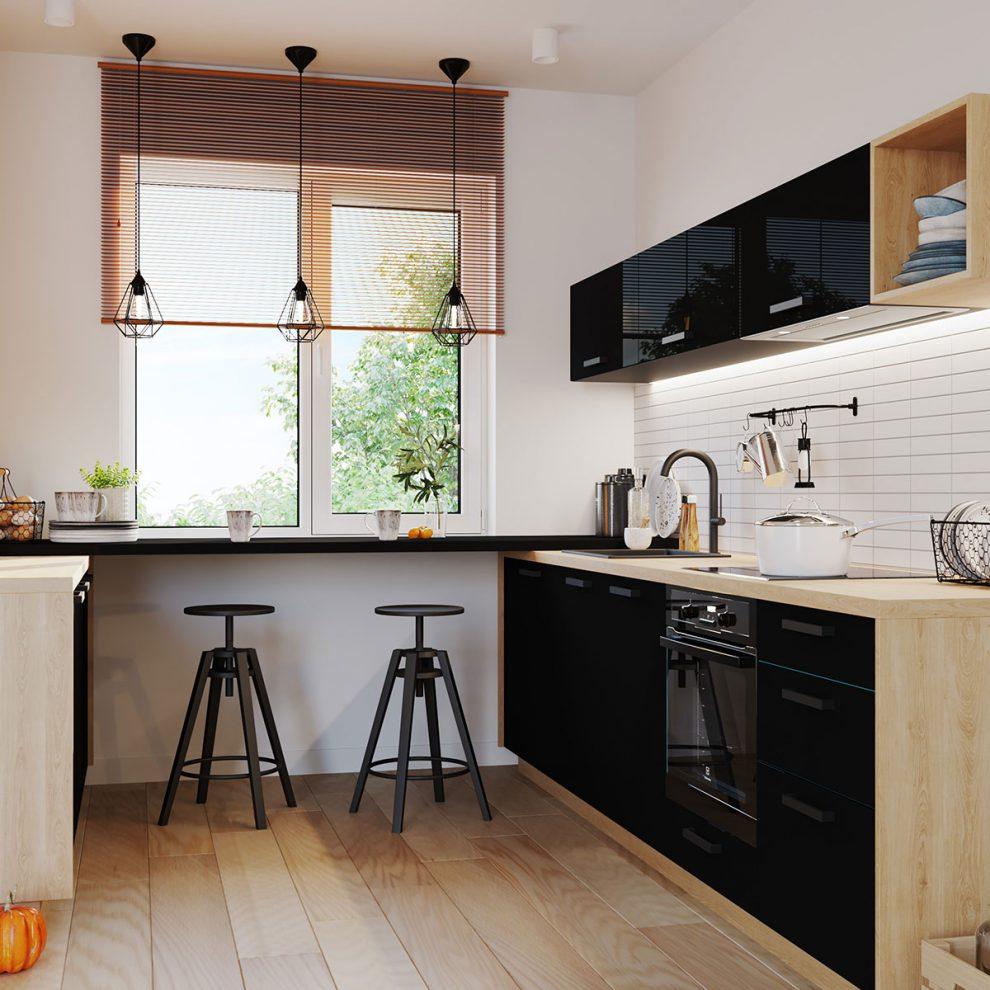 5 Zasad Urządzania Małej Kuchni Abc Ogrodnictwa